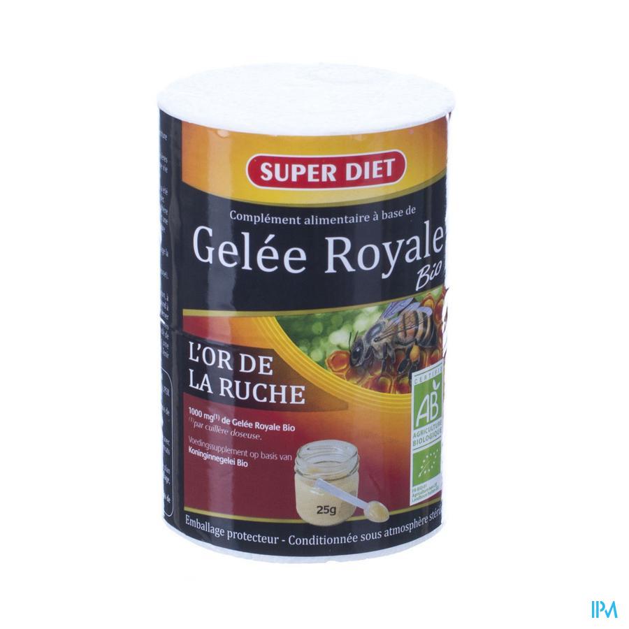 Super Diet Koninginnegelei Bio Pot 25g