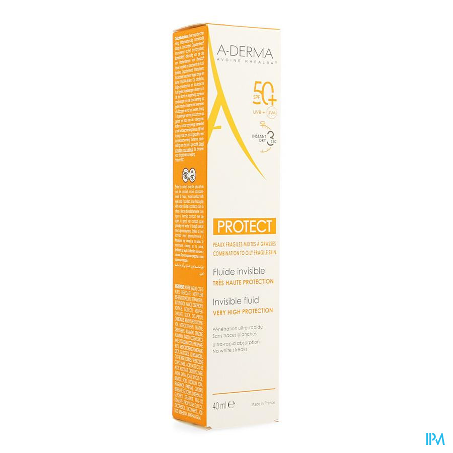 Aderma Protect Fluide Invisible 40 ml