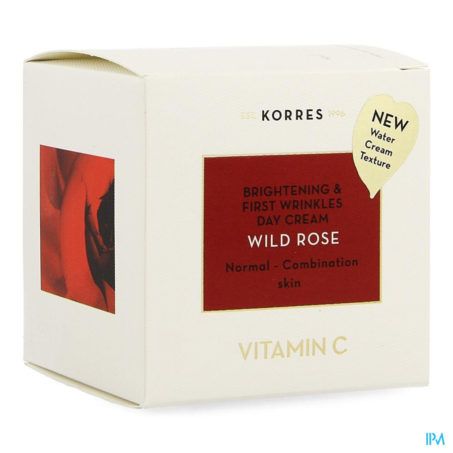 Korres Kf Rose Sauv.cr.jour Peaux Normal Mixt.40ml
