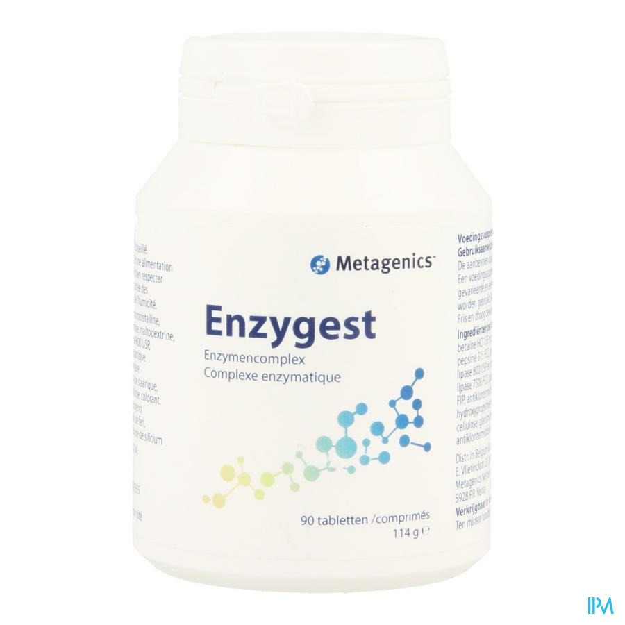 Enzygest Tabl 90 3030 Metagenics