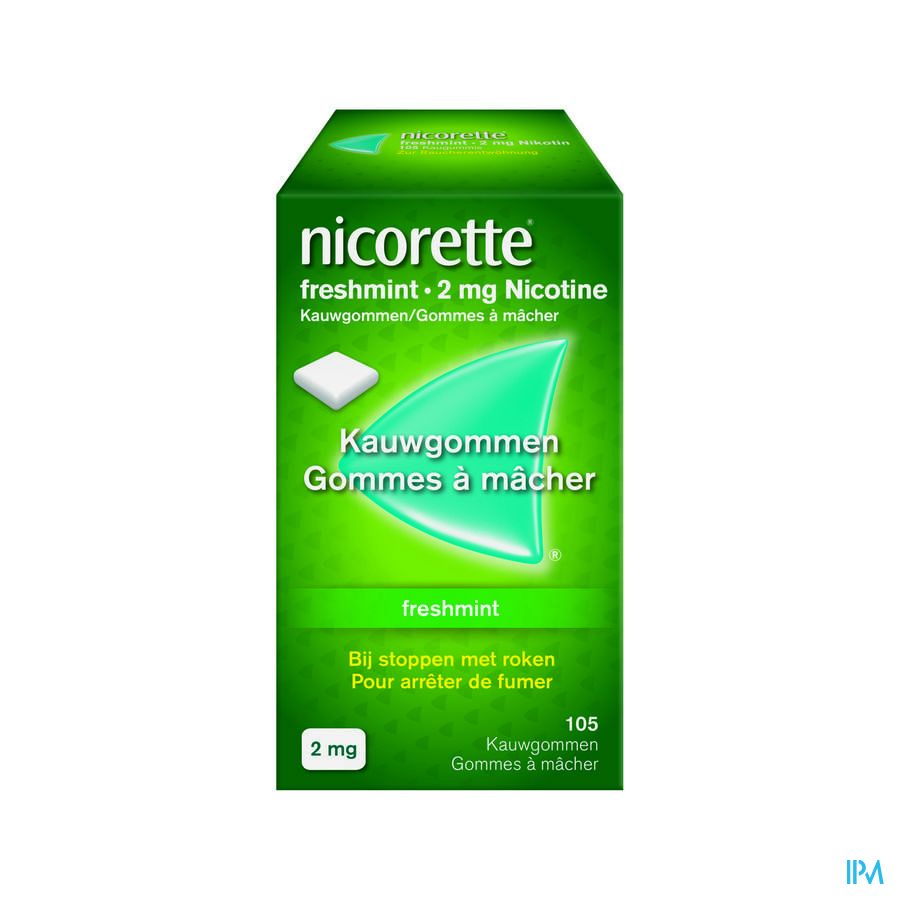 Nicorette Freshmint Gomme Mach 105x2 mg