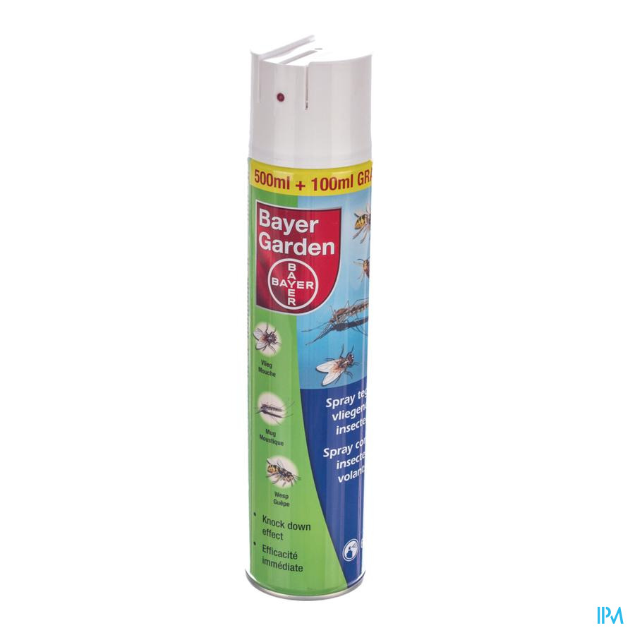 Bayer Home Spray Contre Insectes Volants 600ml