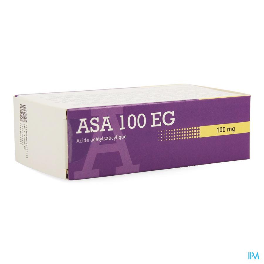 Asa 100 EG Tabletten Maagsapresistente 168 X 100 mg