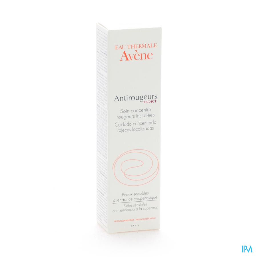 Avene Antirougeurs Fort Soin Concentre Creme 30ml