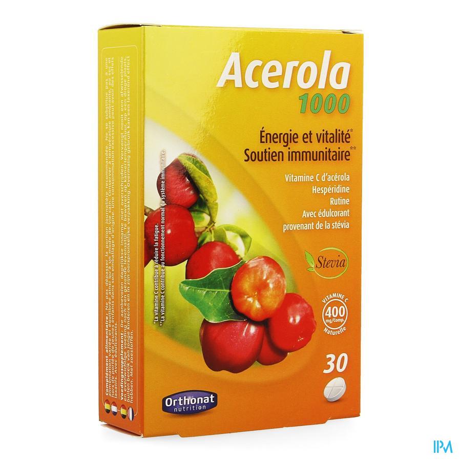 Acerola 1000 Nf Comp 30 Orthonat