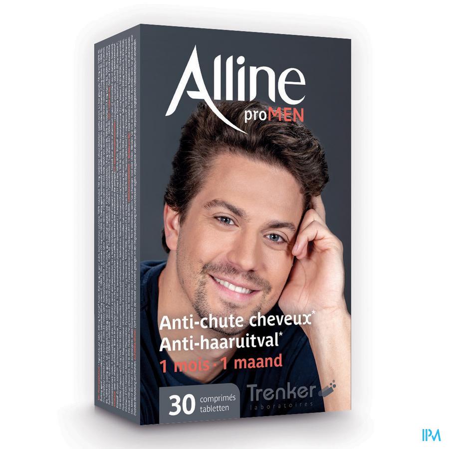 Afbeelding Alline Pro MEN Anti-Haaruitval voor 1 Maand 30 Tabletten .