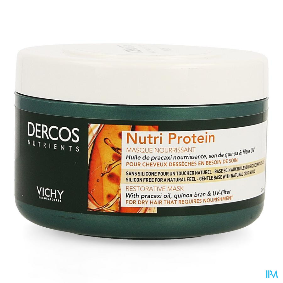Vichy Dercos Nutrients Masque Nourish 250ml
