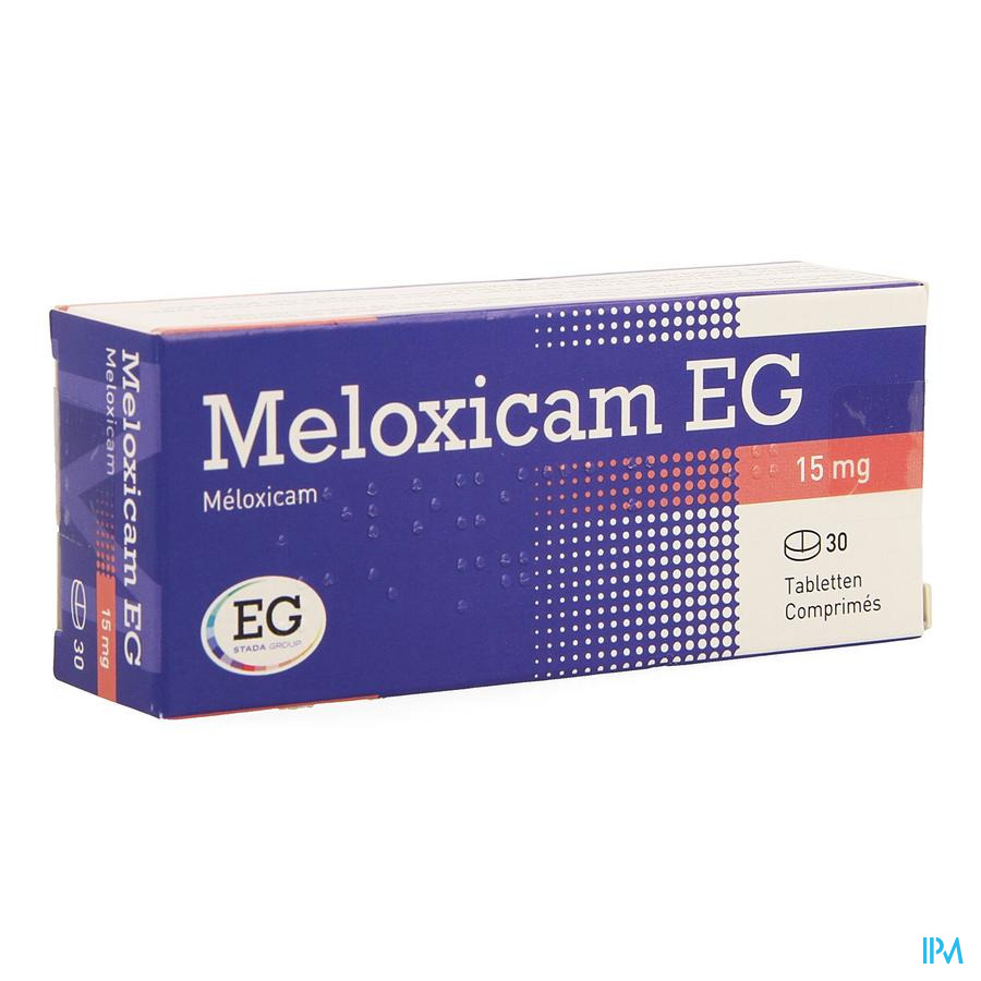 Meloxicam Eg 15mg Tabl 30 X 15mg