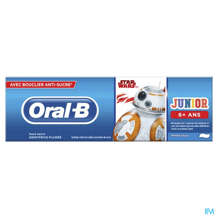 Oral B Tandpasta Stages Star Wars 75ml