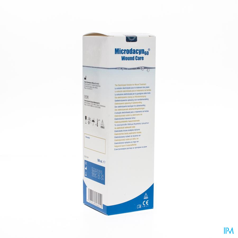 Microdacyn 60 Wound Care Sol Onepack500ml 44102-00