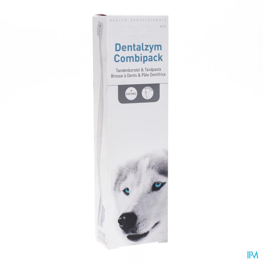 Beaphar Pro Dentalzym Combipack Paste & Brush