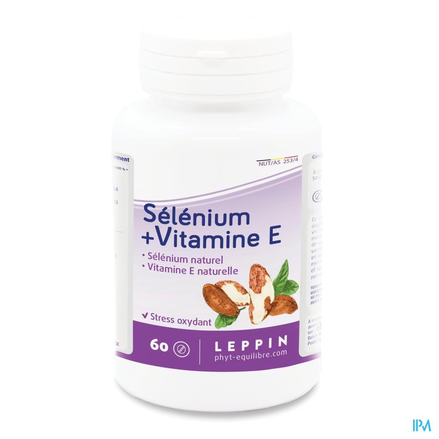 Leppin Selenium + Vit E Tabl 60