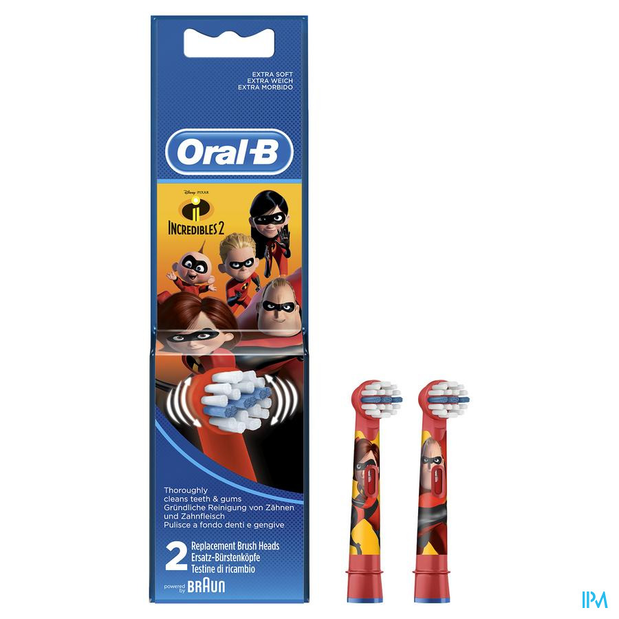 ORAL B REFILL EB10 KIDS INCREDIBLES 2 ST