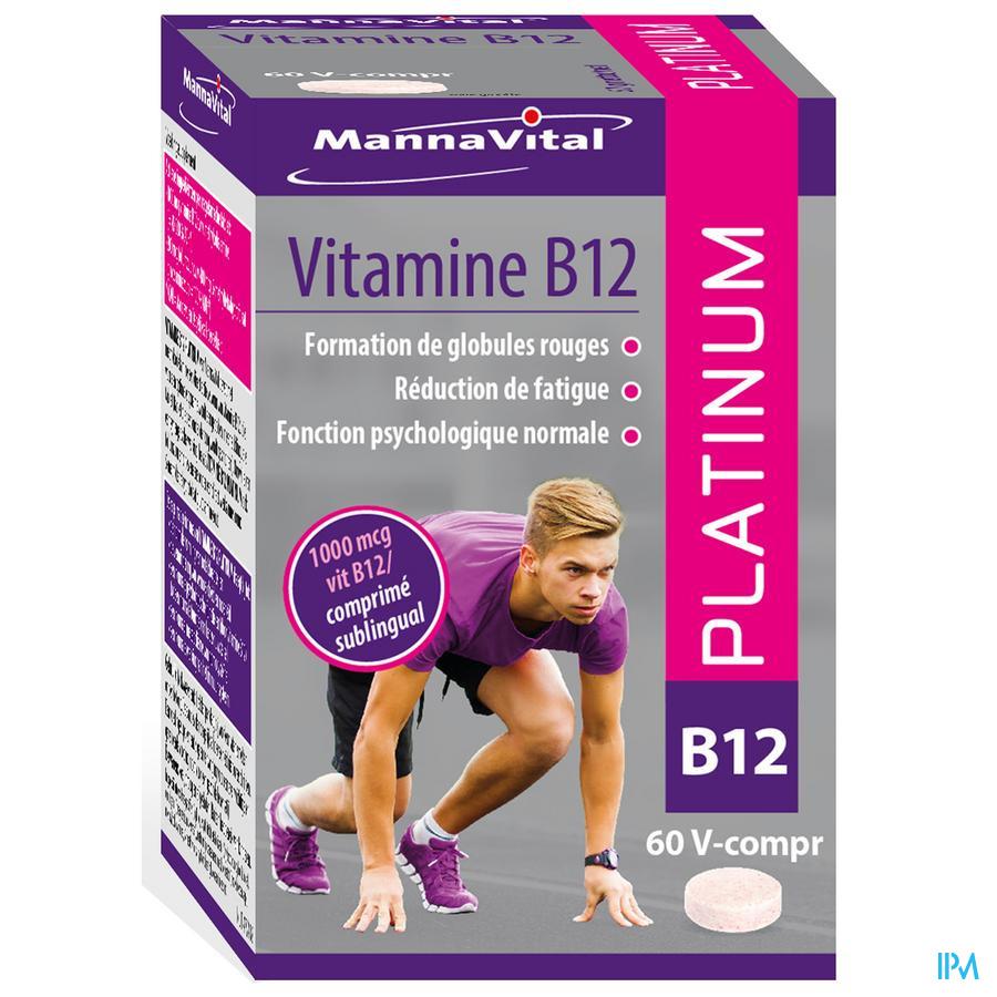 Mannavital Vitamine B12 Platinum V-Capsule 60