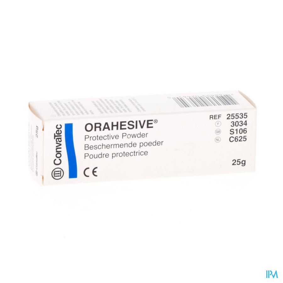 Orahesive Pulv Pectine-gelatine 25g 25535