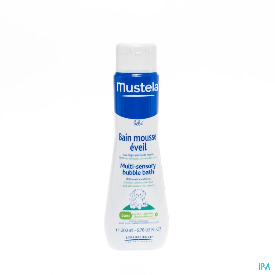 Mustela Pn Tonisch Badschuim Nf 200ml