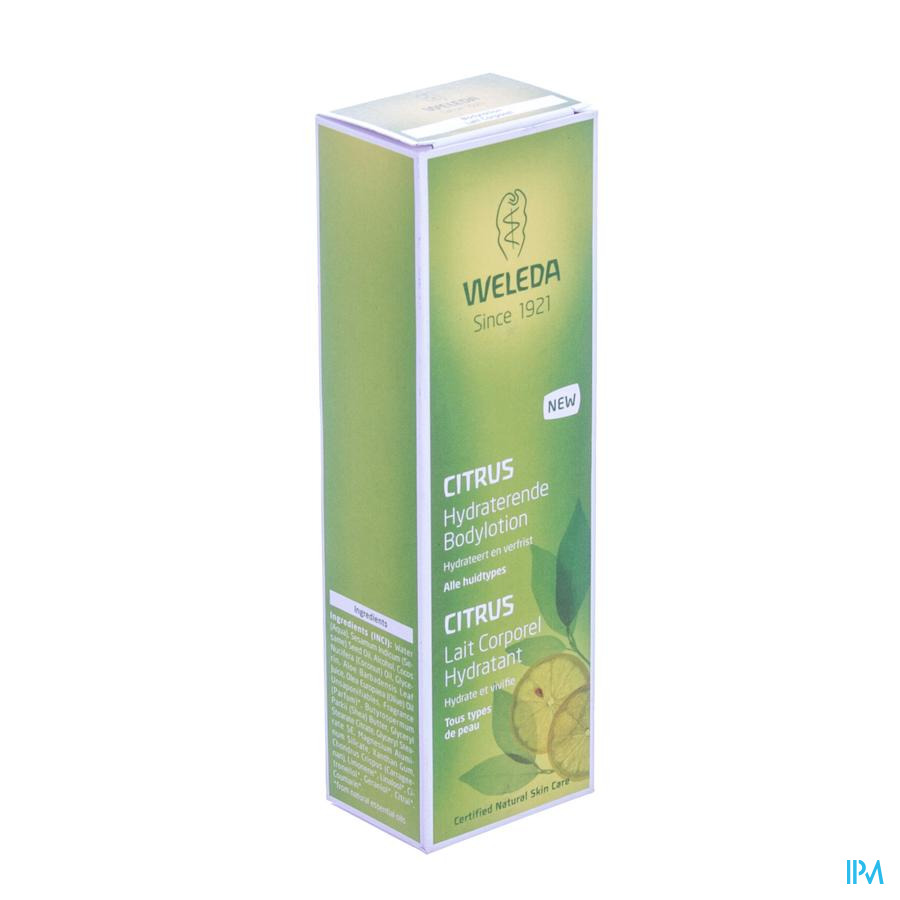 Weleda Citrus Bodylotion Hydra 200ml