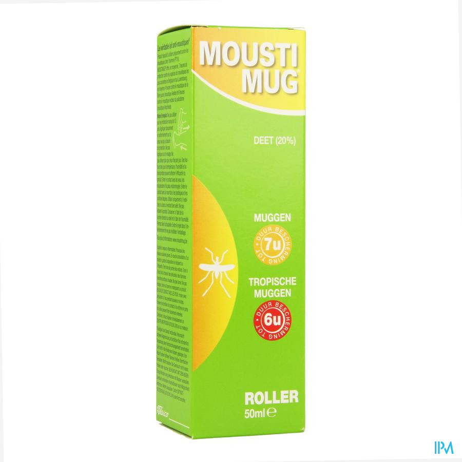 Moustimug Lait A/moust Roller 50ml
