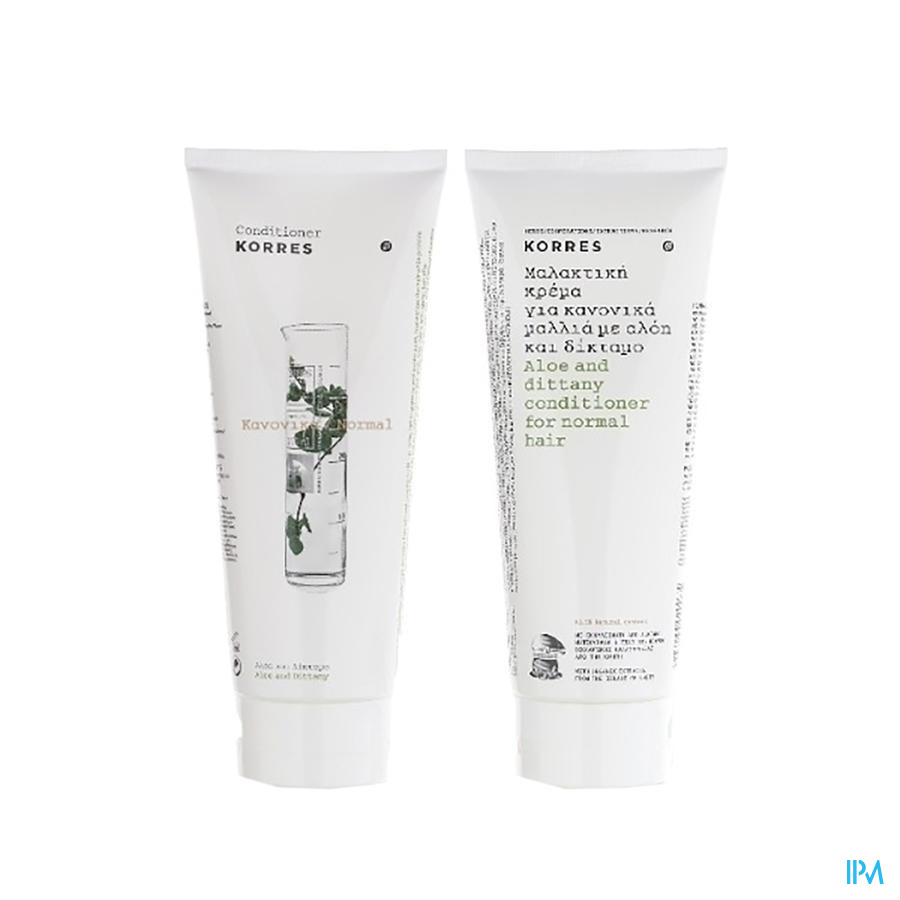 Korres Kh Conditioner Aloe&ditanny 200ml
