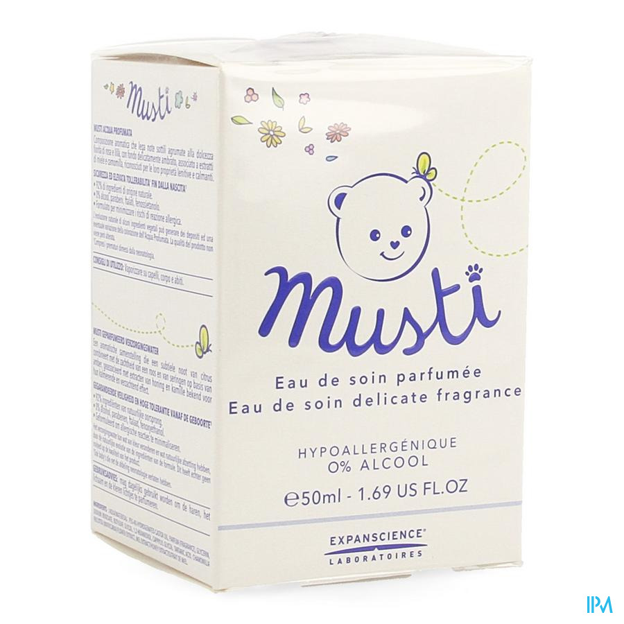 Mustela Bb Musti Verzorgingswater Spray 50ml