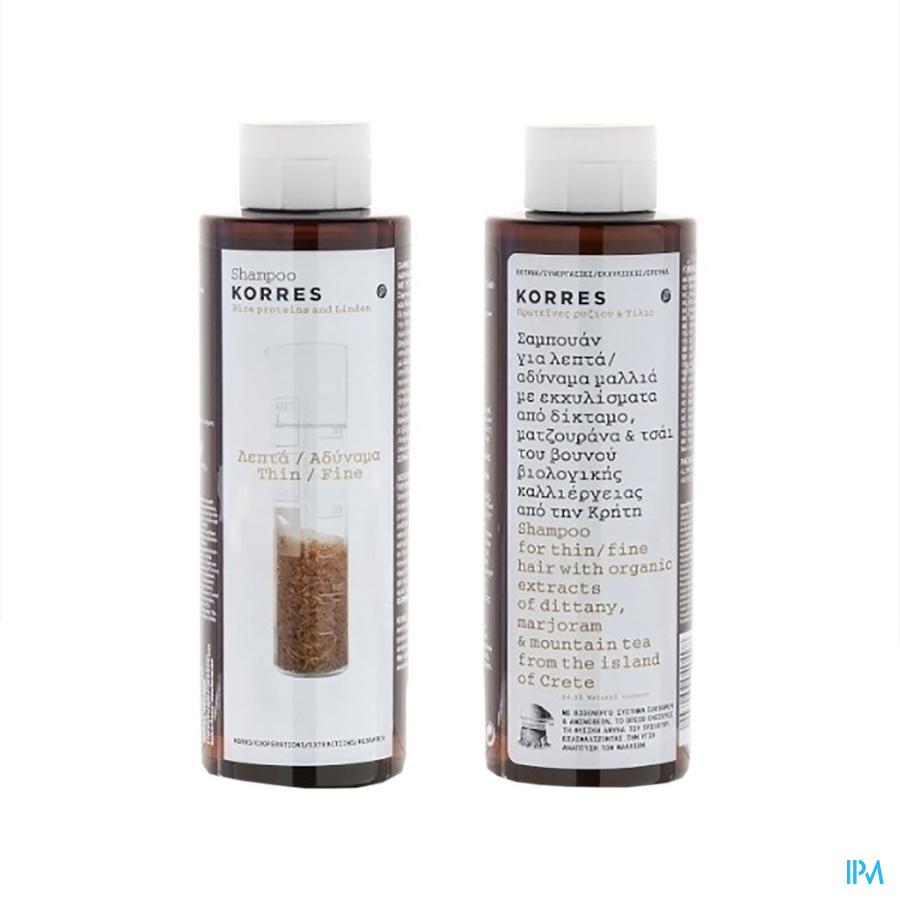 Korres Kh Shampoo Rice P&tile 250ml