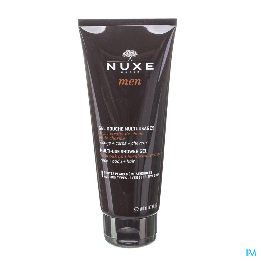 Nuxe Men Douche Gel Multi Gebruik Tube 200ml