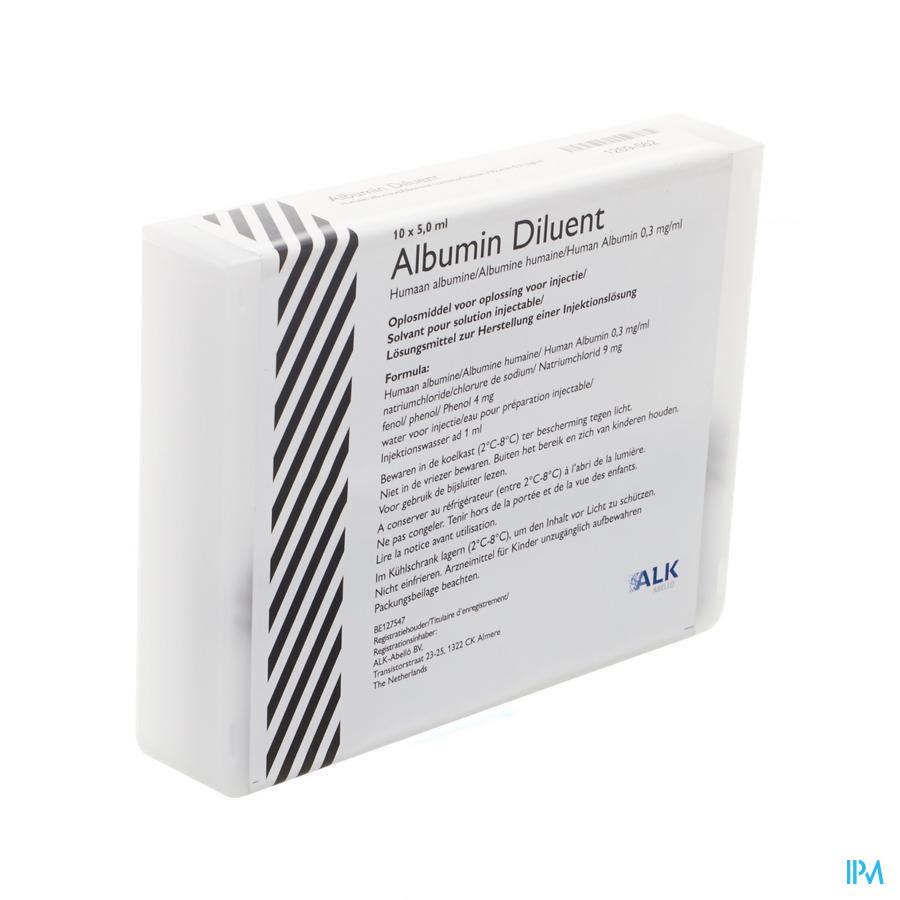 Albumin Diluent Vial
