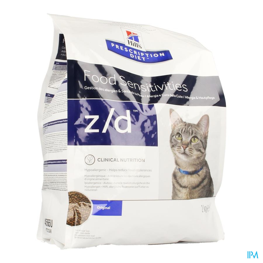 Hills Prescrip.diet Feline Zd Low Allerg.2kg 4565u