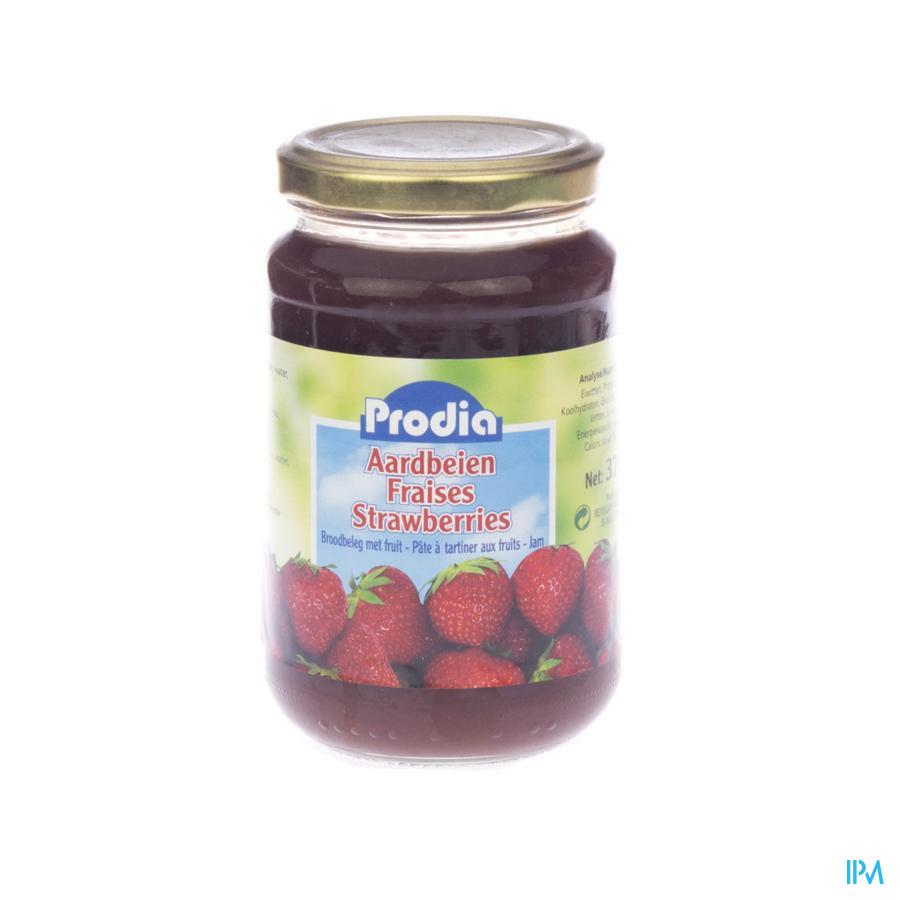 Prodia Confiture Fraises + Fructose 370g 6090