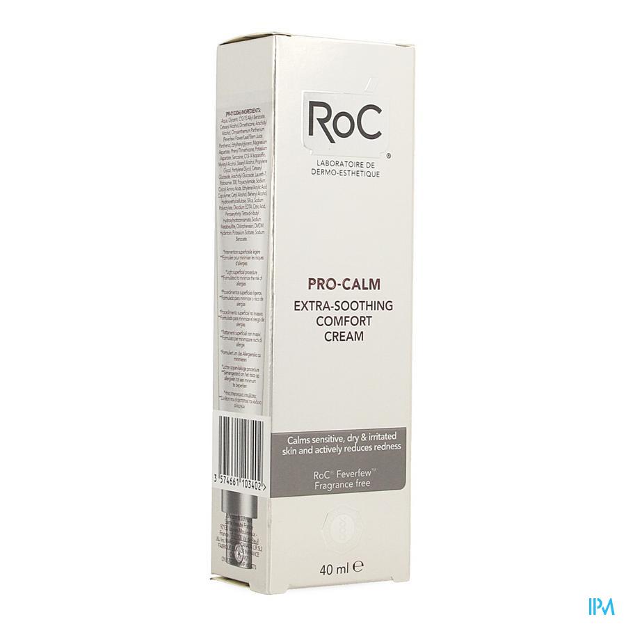 Roc Pro-calm Creme Comfort. Extra Verzacht. 40ml