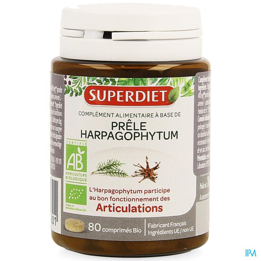 Super Diet Paardestaart-duivelsklauw Bio Comp 80