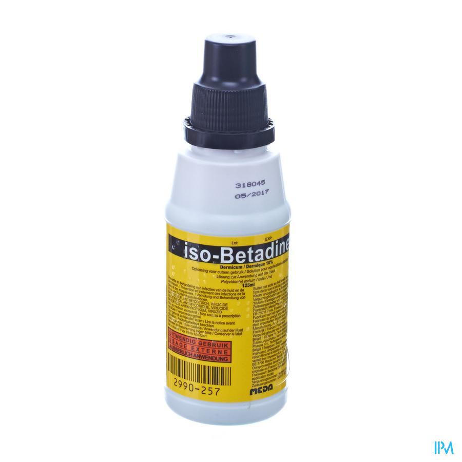 Iso Betadine Impexeco Derm 10% 125ml Pip