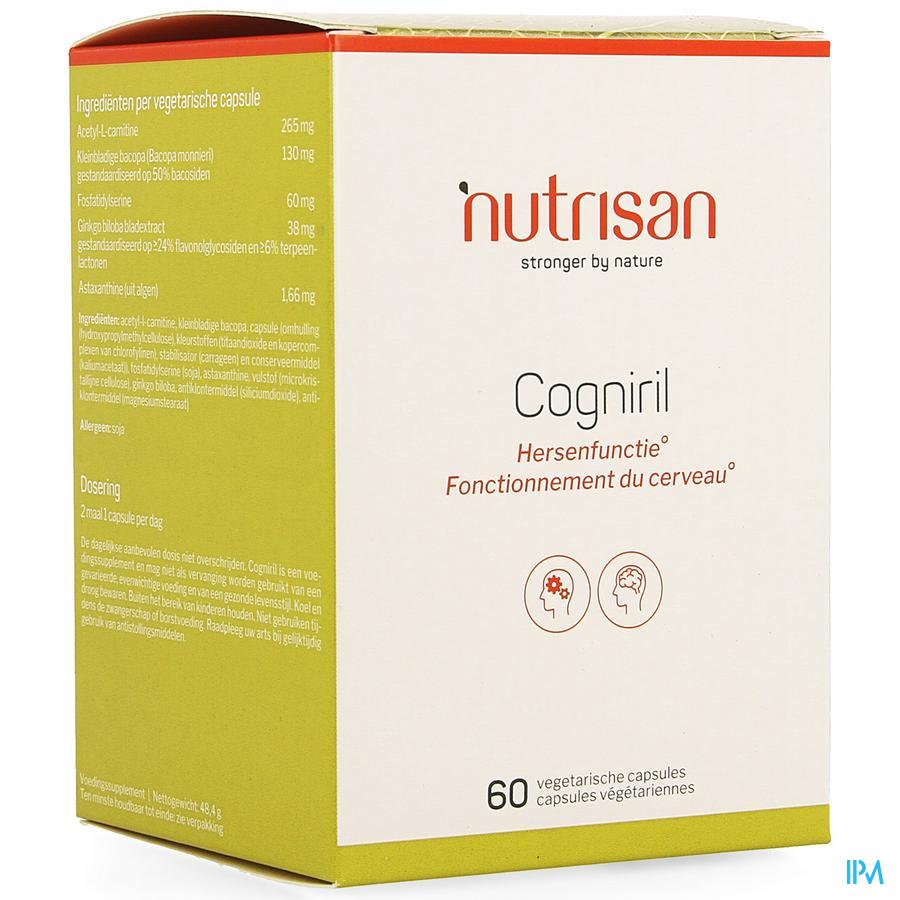 Cogniril V-caps 60 Nutrisan