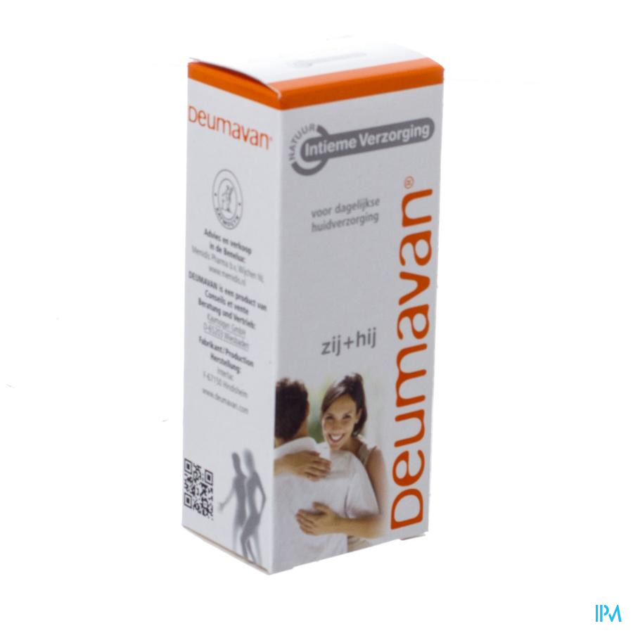 Deumavan Pommade Intimes Nature Tube 50ml
