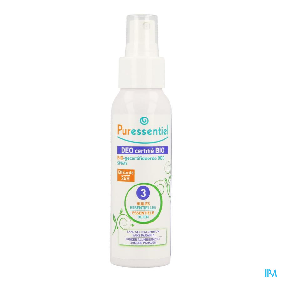 Puressentiel Deo Spray Bio 3 Huiles Ess. 50ml