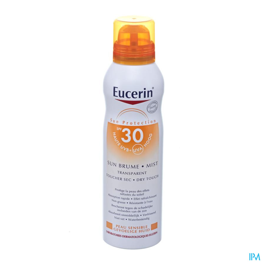 Eucerin Sun Invisible Mist Dry Touch Ip30 200ml