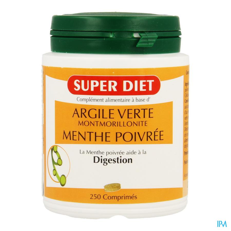 Super Diet Groene Klei Comp 250
