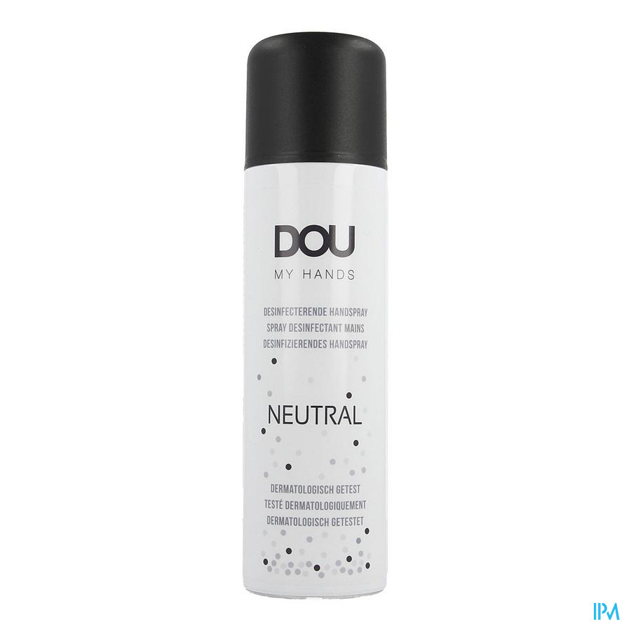 Dou My Hands Handspray Desinfecterend Neutral200ml