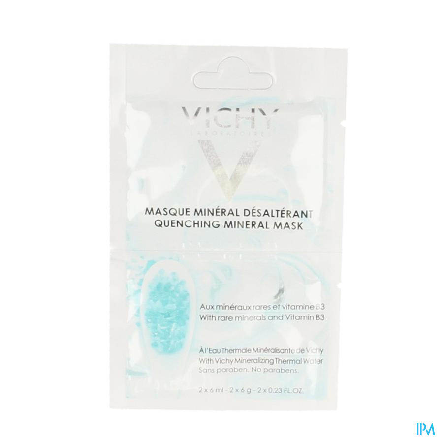 Vichy Purete Thermale Mineral Desalt Masque 12ml