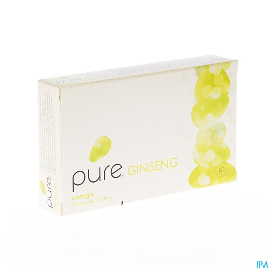 Pure Ginseng Capsule 30  -  Solidpharma