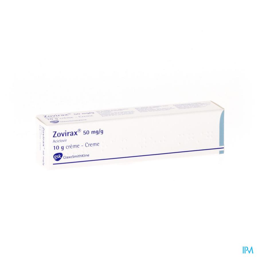Zovirax Creme 10 Gr