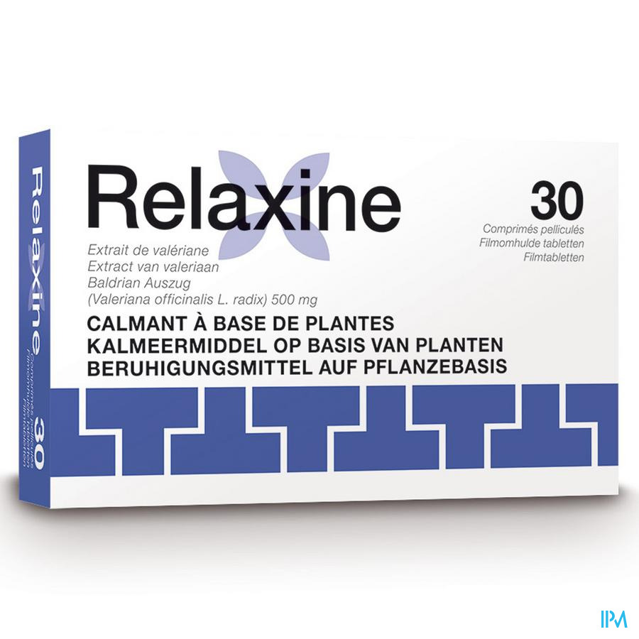 Relaxine 500mg Filmomh Tabl 30