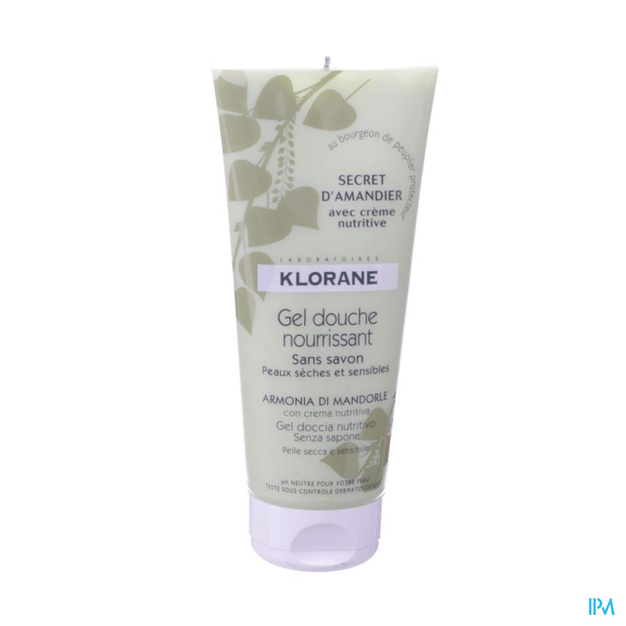 Klorane Douchegel Secret Amandier Tube 200ml