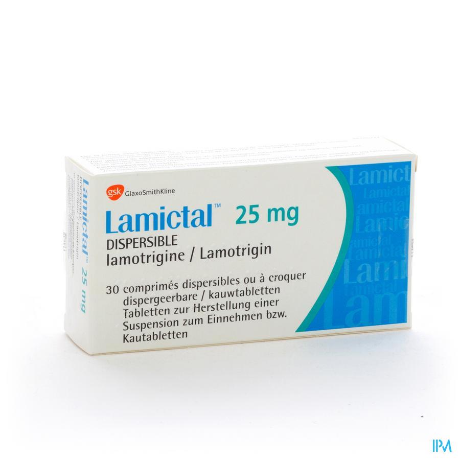 Lamictal Disp Tabl 30 X 25mg