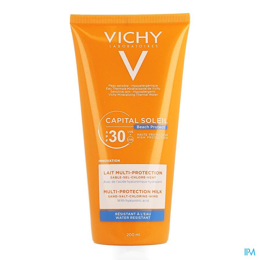 Vichy Cap. Sol. Beach Protect Zonnemelk Ip30 200ml