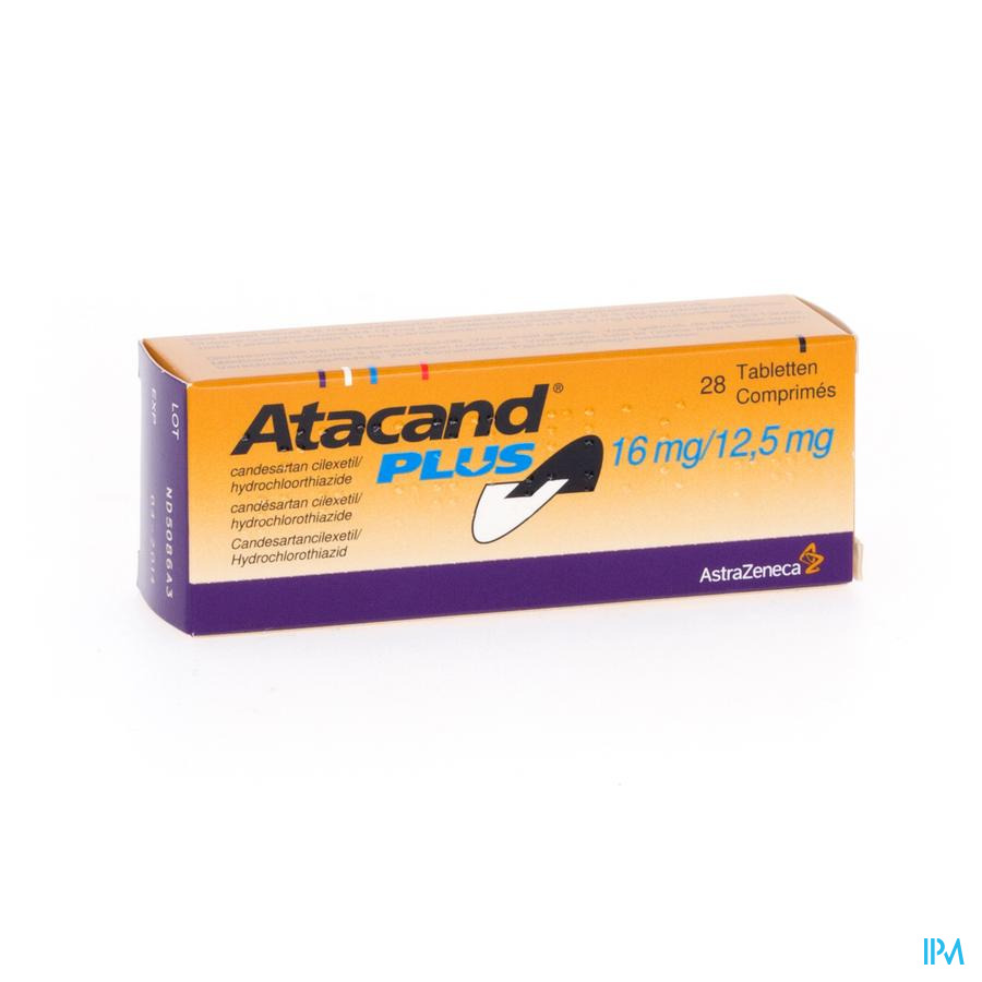 Atacand Plus Comp S/bl 28x16/12,5mg