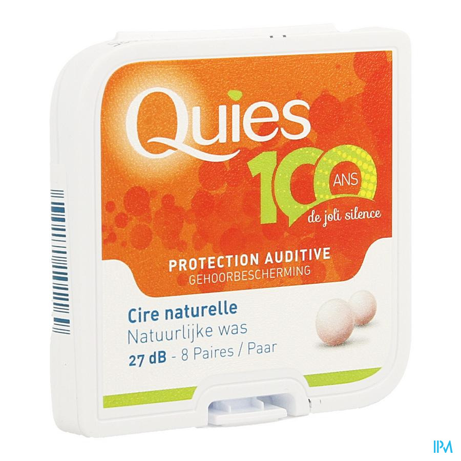 Quies Protection Audit.cire Nat.8paire Rempl104422