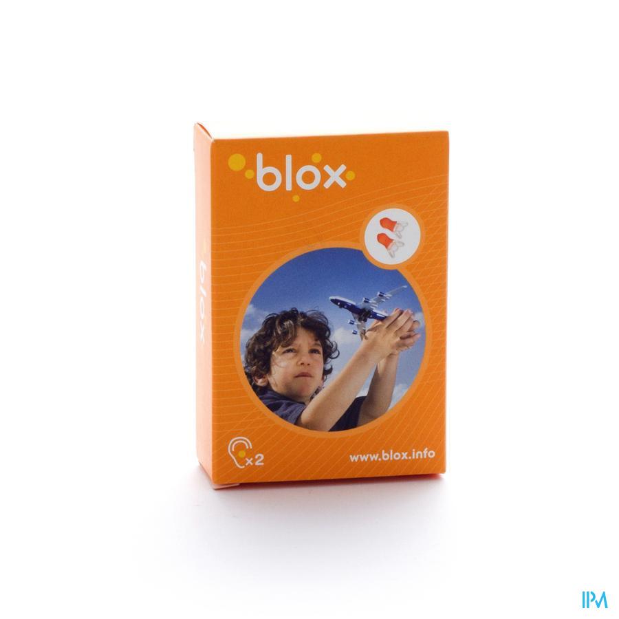 Blox Avion Enfant 1 Paire Prot.auditive Anti pression