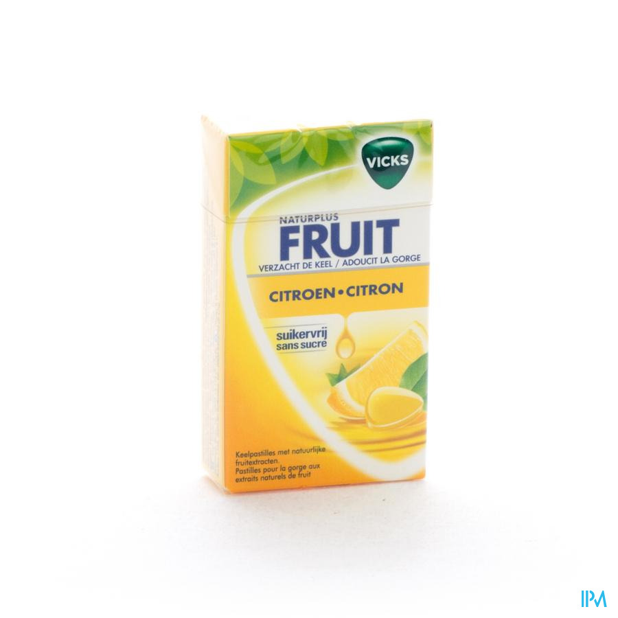 VICKS LEMON+C ZONDER SUIKER 40G BOX