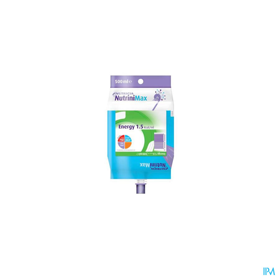 NUTRINI MAX ENERGY 7-12J          PACK 500ML 65752